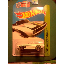 69 Camaro Hot Wheels 241/250 Hw Workshop Trabucle