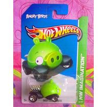 Hot Wheels Carrito Angry Birds