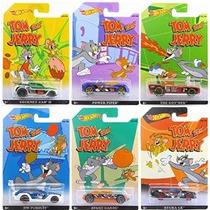 Ruedas Calientes 2015 Tom Y Jerry Completo Juego De 6 Coches