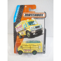 Matchbox On A Mission Camion Mbx Van Amarillo 9/120