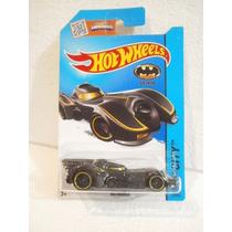 Hot Wheels Batmobile Negro Cromado 62/250 2015