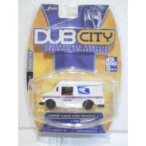Jada Dub City Camioneta Usps Long Life Vehicle Blanco 1:64