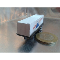 Funrise - Caja Seca De Trailer Tipo Micro Machines De 1989