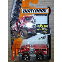 Matchbox Blaze Blaster Camion De Bomberos