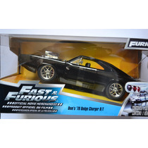 Dom´s 1970 Dodge Charger R/t Rápido Y Furioso Fast & Furious
