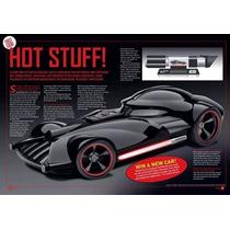 Hotwheels Sdcc 2014 Darth Vader Sable De Luz Con Auto Nuevo!