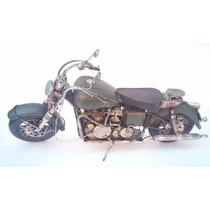 Motocicleta Cruise Metálica