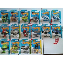 Sealed 2014 Hot Wheels Fábrica Set Exclusivo Lote De 16! - ¡