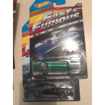 Hot Wheels De Coleccion Serie Rapido Y Furioso 2015 Bvf