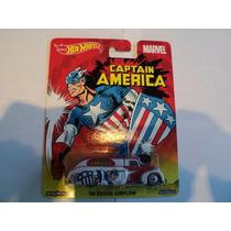 Hot Wheels Pop Culture Marvel Capitan America Env Grat