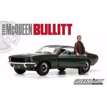 Ford Mustang Gt 68 Bullit - Steve Mcqueen 1/18 Greenlight