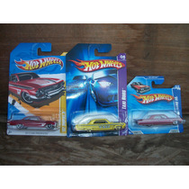 Tm.hot Wheels Lote Chevi,s Impala 61/64
