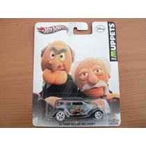 Hot Wheels Muppets Waldo Ford Sedan Delivery 2013