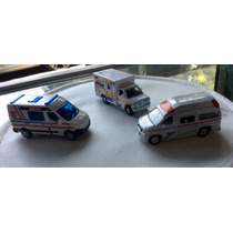 Tomica Matchbox Hot Wheels. Ambulancias Del Mundo.1/64