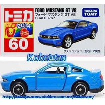 Tomica Ford Mustang Gt V8 1/67 Takara Carrito Metalico Jp