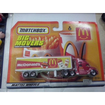 Matchbox Big Movers Mcdonal,s Trailer Js