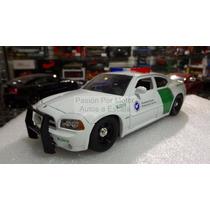 1:24 Dodge Charger Rt 2006 Border Patrol Jada Patrulla Ccaja