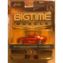 Chevy Camaro Concept 2006 Rojo Real Riders Jada Big Time Grd