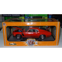 1:24 Ford Mustang Boss 302 1970 M2 Machines Detroit Muscle