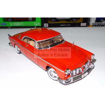 1:24 Chrysler C300 Rojo Motor Max Display