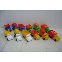 Camion Set De 12 - Camioncito De Plastico - Juguete Escala