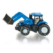 Tractor New Holland Con Pala Frontal Siku Nuevo!