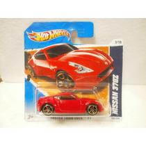 Hot Wheels Nissan 370z Rojo 143/244 2011 Tc