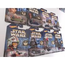 Hot Wheels Star Wars 2015 Guerra De Las Galaxias 8 Piezas