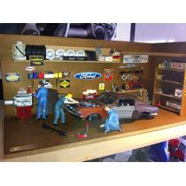 Garaje Diorama Mustang 1/18 Taller Mecánico $2600.00
