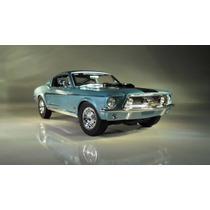 1968 Ford Mustang Gt Cobra Jet Escala 1:18 Maisto No Burago