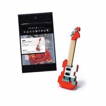 Figura Armables , Nanoblock Guitarra Eléctrica