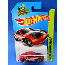 2013 Hot Wheels Nissan 370z Rojo Workshop