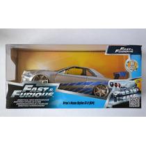 Brian´s Nissan Skyline Gt-r Rápido Y Furioso Fast & Furious