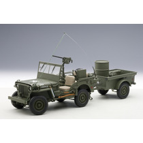 Jeep Willys Us Army Auto A Escala De Colección