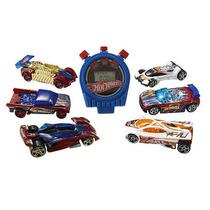 Hot Wheels Pista Aces 2 Paquete Con Cronómetro - (colores /