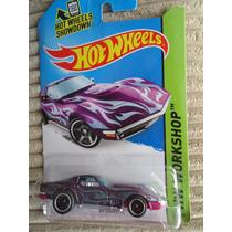 Hot Wheels Super Thunt 69 Corvette Llantas De Goma Superized