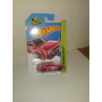 Hotwheels 71 Datsun Bluebird 510 Wagon Roja