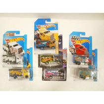 Hot Wheels Lote 7 Camiones Hiway Hauler 2