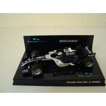 Fórmula 1 Williams Fw28 2006 Nico Rosberg Auto A Escala