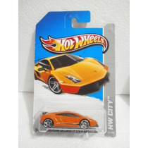 Hot Wheels Lamborghini Gallardo Lp 570-4 Superleggera 2013