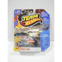 Hot Wheels Team Motocicleta Stret Noz Bicolor 1:64