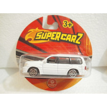 Gashaball Supercarz Camioneta Toyta Land Cruiser Blanco