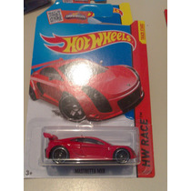 Hot Wheels De Coleccion 2015 Mastreta Mxr Rojo