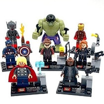 Avengers: Age Of Ultron 8 Piezas Minifigure Juego: Ultimate