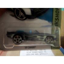 Nuevo Coche Miniatura Hotwheels 69 Camaro Azul Coleccionable