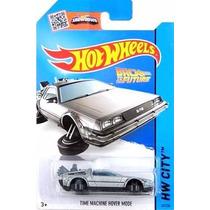 Hot Wheels, Delorean - Time Machine Hover Mode, 2015 Bttf !!