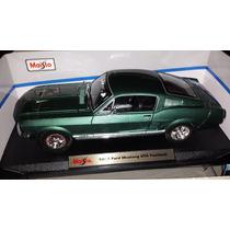1967 Ford Mustang Gta Fastback Escala 1:18 Maisto No Burago