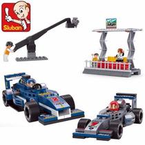 Figuras Armables Podio Fórmula 1, Autos De Carreras