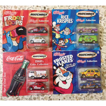 Autos Matchbox Kellogs & Coca Cola Que No Te Los Ganen!!