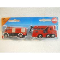 Siku Set Camiones De Bomberos